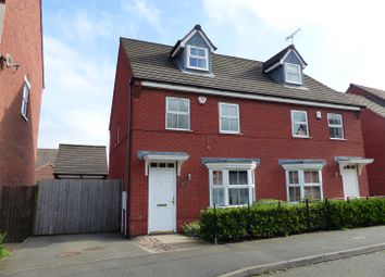 Thumbnail 3 bed semi-detached house for sale in Blueberry Way, Woodville, Swadlincote