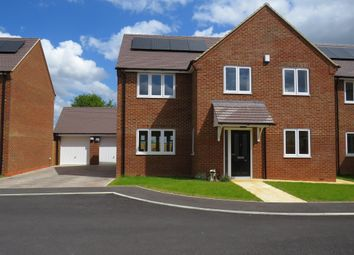 Thumbnail 4 bed detached house for sale in Pagnell Close, Wootton, Northampton