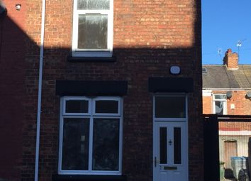 Thumbnail 2 bed end terrace house to rent in Everett Street, Hartlepool