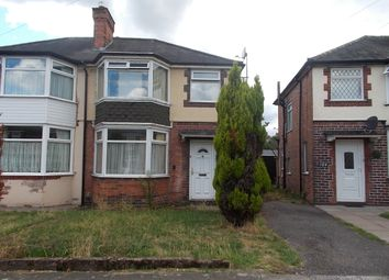 Thumbnail 3 bed semi-detached house for sale in Ermington Crescent, Hodge Hill