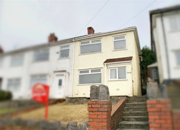 Thumbnail 3 bed end terrace house for sale in Mansel Road, Bonymaen, Swansea, West Glamorgan