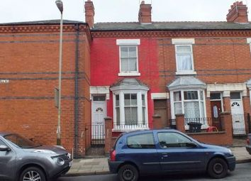 Thumbnail 3 bed terraced house to rent in Bakewell Street, Highfields, Leicester