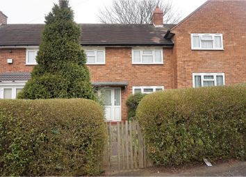 Thumbnail 3 bed terraced house for sale in The Moors, Birmingham