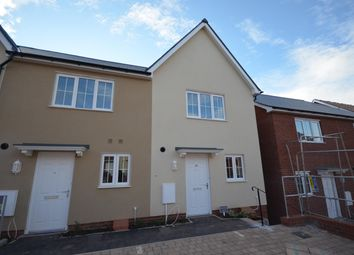 Thumbnail 2 bed terraced house to rent in Whitaker Close, Pinhoe, Exeter