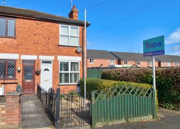 Thumbnail 2 bed end terrace house for sale in Sleaford Road, Newark