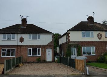 Thumbnail 3 bed semi-detached house for sale in Croft Road, Cosby, Leicester, Leicestershire