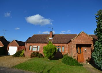 Thumbnail 3 bed detached bungalow for sale in Phillipo Close, Grimston, King's Lynn