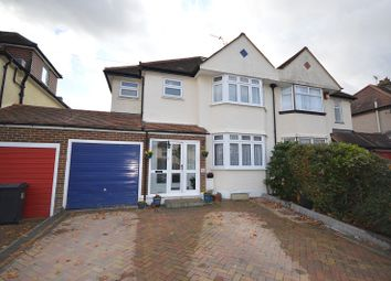 Thumbnail 4 bed semi-detached house for sale in Selwood Road, Chessington, Surrey.