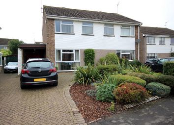 Thumbnail 3 bed semi-detached house for sale in Johns Road, Bugbrooke, Northampton, Northamptonshire.