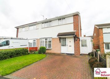 Thumbnail 3 bed semi-detached house for sale in Matlock Road, Walsall