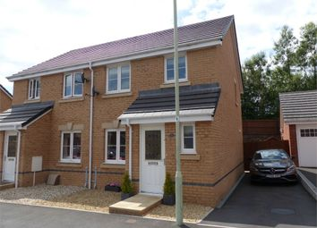 Thumbnail 3 bed semi-detached house for sale in Clos Joslin, Bridgend, Bridgend, Mid Glamorgan