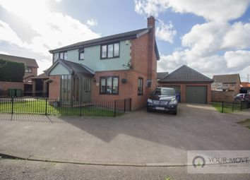Thumbnail 4 bedroom detached house for sale in Fen Green Close, Lowestoft