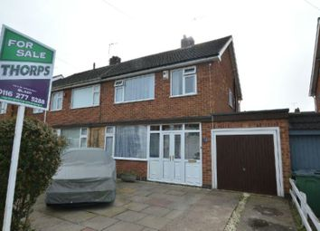 3 bed semi-detached house for sale in Hawthorne Drive, Blaby, Leicester LE8