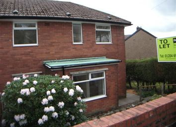 Thumbnail 3 bed semi-detached house to rent in Douglas Avenue, Horwich, Bolton