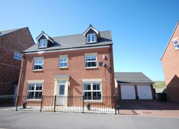 Thumbnail 5 bedroom detached house for sale in Barmoor Drive, Gosforth, Newcastle Upon Tyne