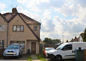 Thumbnail 3 bedroom semi-detached house to rent in Dickens Avenue, Uxbridge