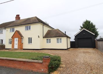 Thumbnail 3 bed semi-detached house to rent in School Avenue, Elmswell, Bury St. Edmunds