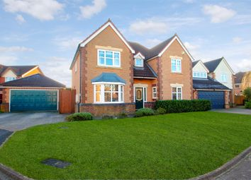Thumbnail 4 bed detached house for sale in Westcliff Gardens, Appleton, Warrington
