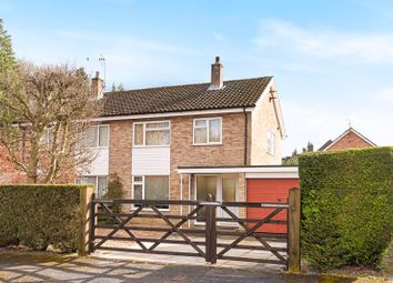 Thumbnail 3 bed semi-detached house for sale in Windmill Drive, Headley Down, Bordon