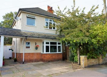 Thumbnail 2 bed end terrace house for sale in Gwendolin Avenue, Leicester