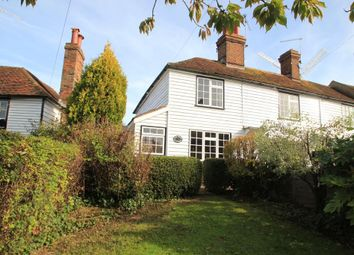 Thumbnail 2 bed semi-detached house for sale in The Hill, Cranbrook, Kent
