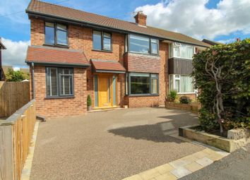 Thumbnail 4 bed semi-detached house for sale in Canberra Road, Bramhall, Stockport