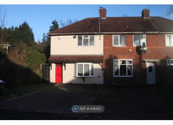 Thumbnail 3 bed end terrace house to rent in Hailsham Road, Birmingham