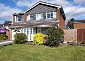 Thumbnail 4 bed detached house for sale in Cleveland Close, Ormesby, Middlesbrough