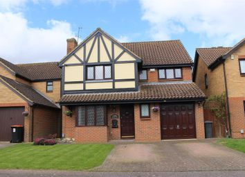 Thumbnail 4 bed detached house for sale in Russell Road, Toddington, Dunstable