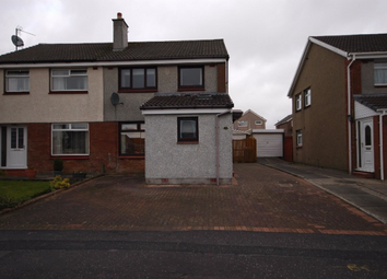 Thumbnail 3 bed semi-detached house to rent in Inchmurrin Drive, Kilmarnock, East Ayrshire, 2Jd