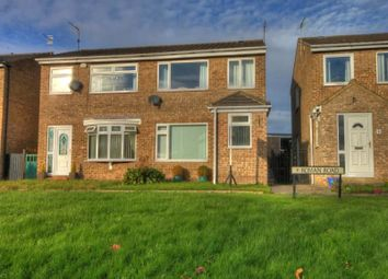 Thumbnail 3 bed semi-detached house to rent in Roman Road, Brandon, Durham