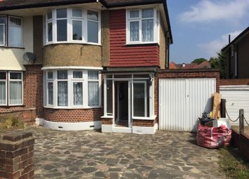 Thumbnail 3 bed semi-detached house to rent in Beverly Cresent, Woodford