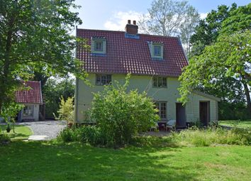Thumbnail 3 bed detached house for sale in Bruisyard Road, Peasenhall, Saxmundham, Suffolk