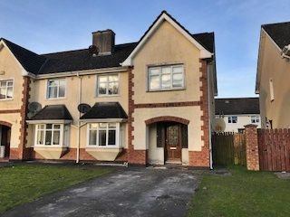 Thumbnail 4 bed semi-detached house for sale in 135 Belvedere Hills, Mullingar, Westmeath