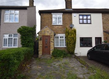 Thumbnail 2 bed end terrace house for sale in Brentwood Road, Romford
