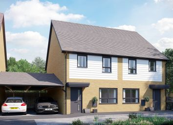 Thumbnail 3 bed semi-detached house for sale in Europa Way, Ipswich