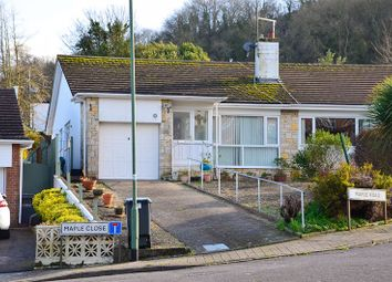 Thumbnail 2 bed semi-detached bungalow for sale in Maple Road, Brixham