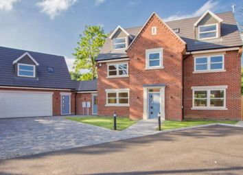 Thumbnail 6 bed detached house for sale in Meadow Close, Countesthorpe, Leicester