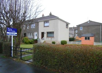Thumbnail 2 bed end terrace house for sale in Caledonia Drive, Baillieston, Glasgow