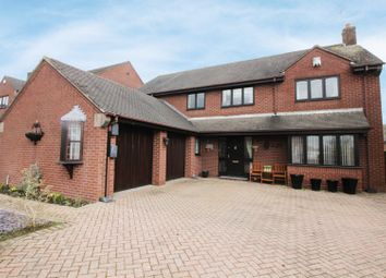 Thumbnail 4 bed detached house for sale in Bassett Close, Stoke-On-Trent, Staffordshire