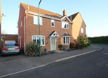 Thumbnail 4 bed detached house for sale in East Of England Way, Orton Northgate, Peterborough