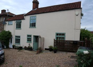 Thumbnail 2 bed semi-detached house for sale in 19 Chandlers Hill, Wymondham, Norfolk