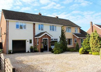 Thumbnail 5 bed semi-detached house for sale in Chevington Road, Chedburgh, Bury St. Edmunds