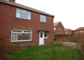 Thumbnail 3 bedroom semi-detached house for sale in Moor View, Camperdown, Newcastle Upon Tyne