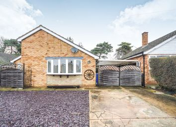 Thumbnail 2 bed detached bungalow for sale in Sandgalls Road, Lakenheath, Brandon