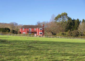Thumbnail 4 bedroom equestrian property for sale in Birchill, Axminster, Devon