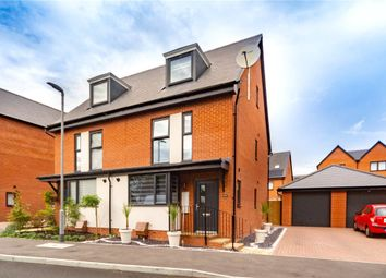 Thumbnail 3 bed semi-detached house for sale in Coley Avenue, Reading, Berkshire