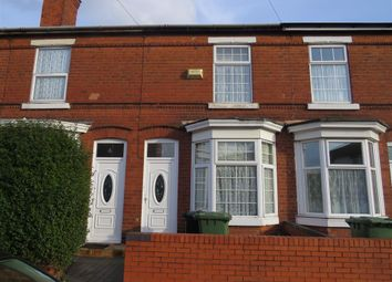 Thumbnail 3 bed terraced house to rent in Tong Street, Walsall