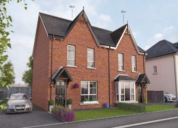 Thumbnail 3 bed semi-detached house for sale in Comber Road, Dundonald, Belfast