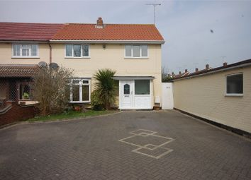 Thumbnail 3 bed end terrace house for sale in The Fryth, Basildon, Essex